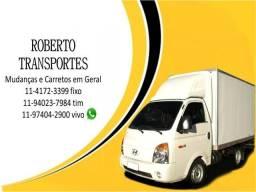 Mude com Segurança e Rapidez com Roberto Carretos e Mudança Agende!