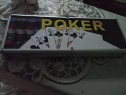 Maleta poker profissional