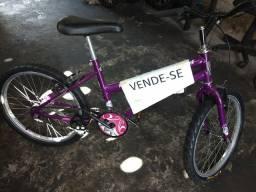 Bike aro 20 feminina toda perfeita