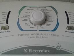 Lava-roupas Turbo Acqua jet 15kg Electrolux