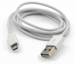 Cabo Auxiliar USB Android Branco no Atacado
