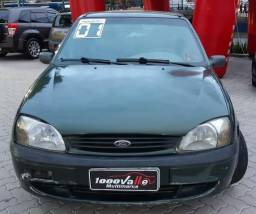 Fiesta GL Class 1.0 5P 2001 Verde - 2001