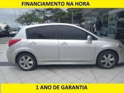 Nissan Tiida sL = Financiamento na hora - 2012