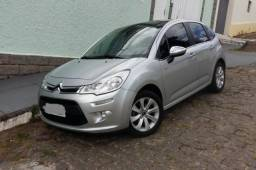 Citroen C3 Exclusive 1.6 Flex Start - Unico Dono - Teto de Vidro - 2014