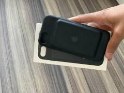 Capa Carregadora Preta iPhone 7 ou 8 Original Apple - Nota fiscal, em perfeito estado!