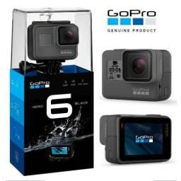 GoPro HERO 6 Black 4K Action Camera Original Zerada - Ganhei na empresa