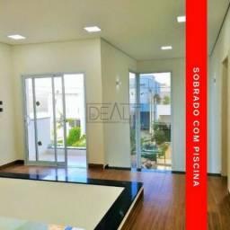 (AL) Arquitetura sofisticada - casa sobrado a venda - Jd de Mônaco Hortolândia