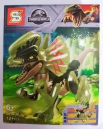 Mini Dinossauro de montar 12 peças