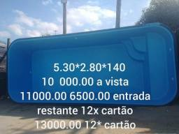 Piscina Nova 5.30x2.80x1.40
