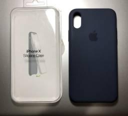 Capa Original Apple Silicone Case para IPhone X ou XS
