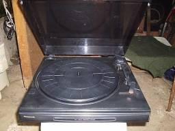 Tocadisco panasonic troco em reverberador ou outros vintage d som
