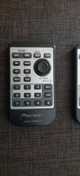 Controles remoto da Pioneer e Sony raridade.