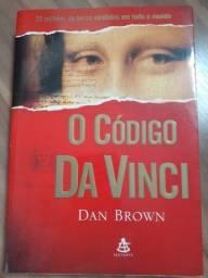 O código da Vinci, livro usado