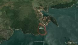 Represa de Chavantes enfrente marina Kall e do Ze Mario