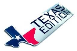 Adesivo/Emblema Texas Edition