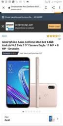 Asus, ZenFone n tem 1mês de uso troco por um A20