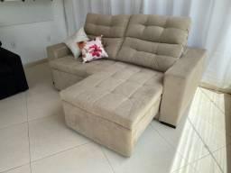 Sofa retratil e reclinavel, fábrica wzap 22- *