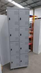 Roupeiros em aço, armário de aço para vestiário, guarda volumes
