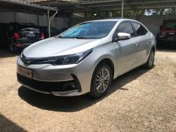 Corolla GL-i Upper 1.8 16v Flex 2019 Prata Único Dono Automático Completo