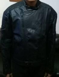 Jaqueta de couro Legítimo para motoqueiro