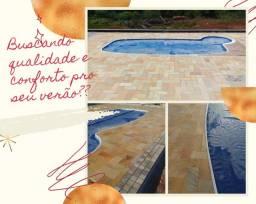 Revestimento para piscinas