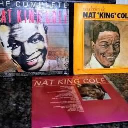 LP Nat King Cole Disco Vinil Pack com 3 unidades Long Play