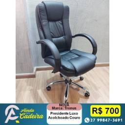 Título do anúncio: Cadeiras Presidente Luxo Espuma Confortável