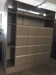 Título do anúncio: Arquivo de madeira com 16 gavetas