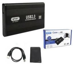 Título do anúncio: Case Gaveta HD Sata 2.5'' USB 2.0 Externo KP-HD001 - Knup -Loja Coimbra Computadores