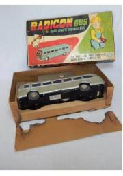 Raríssimo brinquedo antigo Radicon Bus, anos 50