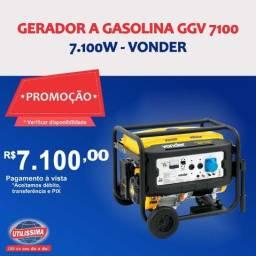 Gerador à Gasolina 7100W GGV 7100 110/220V Vonder
