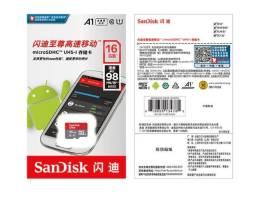 Cartão de memória SanDisk  SD 16GB Brinde Adaptador
