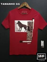 camiseta masculina-GG premium