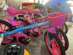 Título do anúncio: Venha já temos nova bicicleta pra criança 3 anos tamanho aro 16 infantil