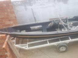 Vendo bote de alumínio
