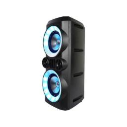 Título do anúncio: Caixa de Som Mini Torre Multilaser SP379 Neon X 300W - 12X Sem Juros
