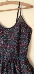 Vestido estampado (bazar)
