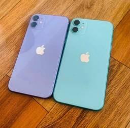 IPHONE 11 128Gb lacrado Verde  e Roxo R$4299,00
