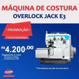 Título do anúncio: Máquina de Costura Overlock Jack E3