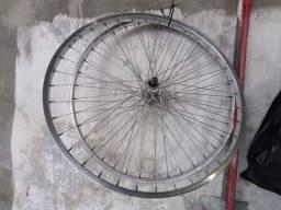 Rodas de bicicleta originais CALOI, completas, aro 26.