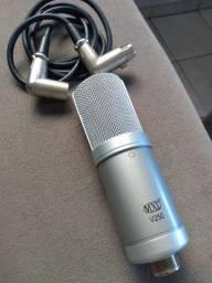 Vendo microfone condensador profissional MXL v250