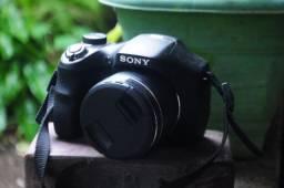Câmera Sony DSC h300 semi profissional