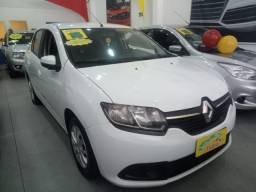 Renault Logan expression 1.0 2015 completo todo original