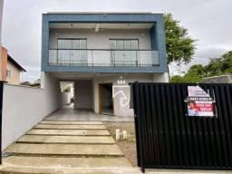 Título do anúncio: Sobrado com 3 dormitórios à venda, 127 m² por R$ 398.000,00 - Princesa do Mar - Itapoá/SC