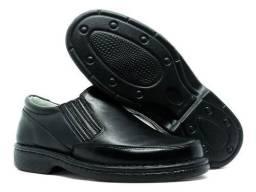 Sapato social masculino ortopédico