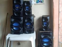 Título do anúncio: 6 caixas de som perfeita