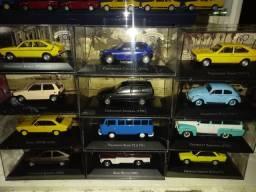 Título do anúncio: Miniaturas carros nacionais 1/43 Chevrolet Volkswagen