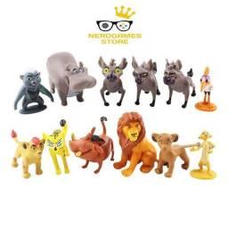 Título do anúncio: Brinquedo bonecos guarda do leão kit 12 peças