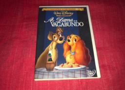 DVD A Dama e o Vagabundo - 1ª Edição - Disney
