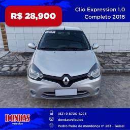 Clio  2016 expression  emplacado 2021